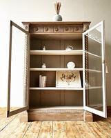 Antique Victorian Bookcase / Cabinet / Bookshelf (3 of 7)