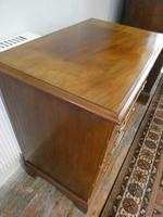 Small Early 20th Century Mahogany Chest of Drawers (6 of 10)