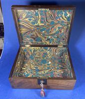 Victorian Walnut Jewellery Box (3 of 12)