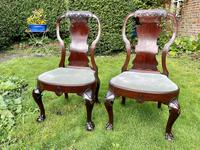 Pair of George I style chairs