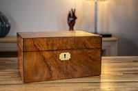 Figured Walnut Table Box c.1880 (7 of 9)