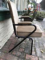 Three Vintage Metal Cinema Type Chairs (2 of 6)