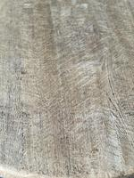 French Round Bleached Oak Farmhouse Dining Table (6 of 19)
