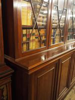 Large George III Style Mahogany 6 Door Cabinet Bookcase (16 of 17)