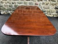 Antique Mahogany Twin Pillar Extending Dining Table (4 of 11)
