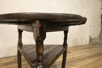 18th Century Oak Cricket Table (9 of 16)