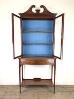 19th Century Glazed Mahogany Bookcase on Stand (5 of 10)
