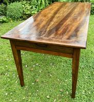 French Farmhouse Table in Walnut (6 of 7)
