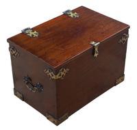 Gothic Revival 19th Century Mahogany Despatch Box Pugin (4 of 6)