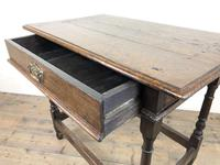 Early 18th Century Joined Oak Side Table (4 of 8)