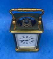 Victorian 8 Day  Brass Carriage Clock (2 of 13)