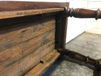 Very Early Oak Farmhouse Refectory Dining Table (13 of 31)