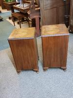 Pair of Walnut Bedside Tables (2 of 5)