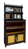 Pair of Aesthetic Movement Cabinets c.1880 (2 of 10)