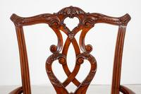 Set of 8 Mahogany Chippendale Style Dining Chairs (3 of 17)