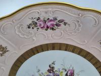 Vintage German Porcelain Plates / Chargers Bavarian /Set of Three (32 of 32)