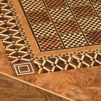 Victorian Walnut & Inlaid Games Table (5 of 10)