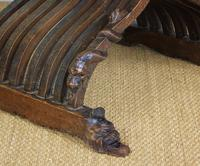 Outstanding Italian Walnut Savonarola Chair (6 of 12)