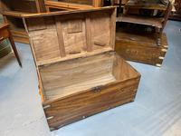 19th Century Camphor Campaign Trunk (9 of 10)