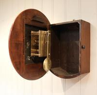 Light Mahogany Fusee Dial Clock (5 of 7)