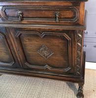 Oak Twist Leg Bookcase (13 of 13)