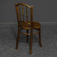 Set of Four Bentwood Chairs by Mundus and J+J Kohn LTD (2 of 9)