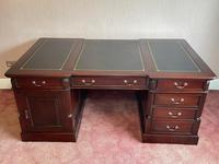 Large Georgian Style Double Sided Partners Desk (45 of 51)