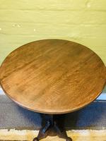 Arts & Crafts Pedestal Table (7 of 9)
