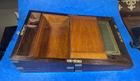 Victorian Brassbound Rosewood Writing Slope (12 of 20)