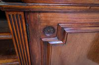 Gillow & Co Library Walnut Bookcase (12 of 15)