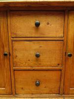 Victorian Rustic Antique Pine Sideboard Kitchen Unit (6 of 22)