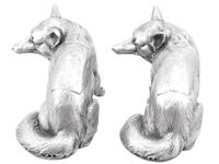 Sterling Silver Fox Boxes - George V 1926 (2 of 12)
