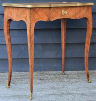 Exceptional Quality 19th Century French Kingwood Writing Table/ Lamp Table/ Centre Table. (7 of 15)