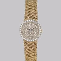 Bueche Girod for Roy King Diamond Bracelet Watch Ladies Vintage 9ct Gold 1.5 carat Diamond Watch Hallmarked 1979 (4 of 19)