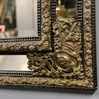 Large 19th Century French Repousse Mirror (4 of 7)
