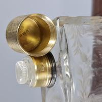Exceptional Asprey HM Silver Gilt Fittings in Leather Case c.1935 (10 of 27)
