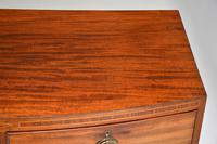 Antique Georgian Mahogany Bow Front Chest of Drawers (3 of 10)