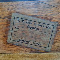 Camphorwood Military Trunk Owned by First World War Veteran (3 of 7)