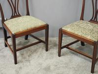 Pair of George III Mahogany Dining Chairs (2 of 10)
