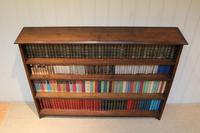 Large Solid Oak Open Bookcase (9 of 9)