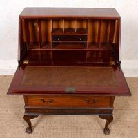 Bureau Mahogany Writing Desk Chest 19th Century (6 of 12)