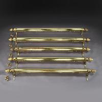 Set of Five Brass Curtain Rails removed from Downing Street (4 of 10)