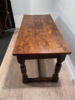 19th Century Oak Refectory Table (6 of 6)