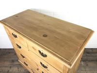 Antique Pine Chest of Drawers (4 of 10)