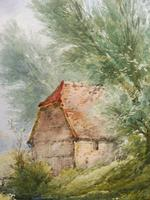 Watercolour Bates Brook Redhill Listed Artist H Rawson (10 of 12)