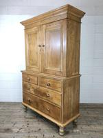 Antique Pine Cupboard with Drawers (8 of 11)