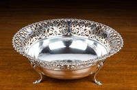 Early 20th Century Flared & Cast Silver Bowl (2 of 7)