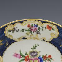 First Period Worcester Porcelain Scale Blue Oval Dish c.1770 (2 of 8)
