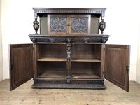 Antique 19th Century Carved Oak Court Cupboard (21 of 24)