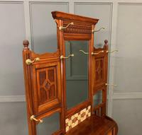 Large Victorian Walnut Hall Stand by James Shoolbred and Co. (5 of 17)